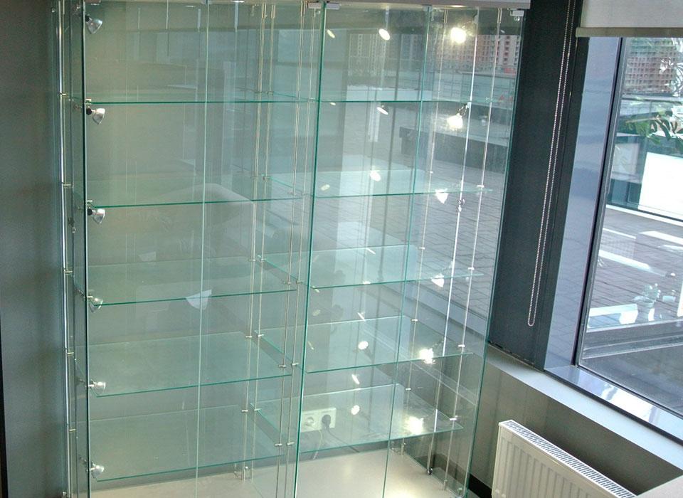 Плоское стекло для витрин